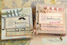 Scrapbook for little baby Prince & Princess