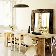 Mixed Dining Area Seating   Chandelier Lighting Blog