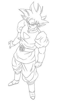 Goku Ultra Instinct by on DeviantArt Goku Drawing, Ball Drawing, Manga Drawing, Foto Do Goku, Dbz Drawings, Graffiti Drawing, Dragon Ball Gt, Sketches, Manga Girl
