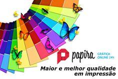 Bom dia! Para você que está a procura de uma Gráfica de qualidade. Acesse: www.papira.com.br