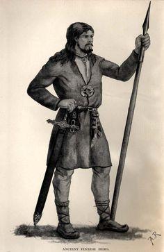 Suurtilallisen varusteisiin kuuluivat miekka ja keihäs, jälkimmäinen oli ehkäpä hopeoitukin. Rintaa koristi hevosenkenkäsolki.