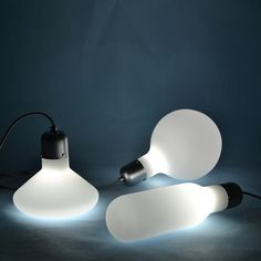 Frosted White Glass Pendant Light in 3 Shapes