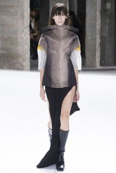 Visions of the Future // Rick Owens Spring/Summer 2017 Ready-To-Wear Collection   British Vogue