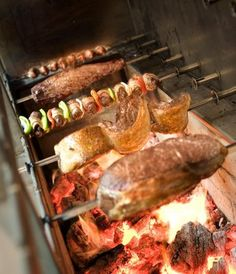 Agora Churrascaria - Brazilian all you can eat bbq meats with an excellent salad bar.  (Irvine, CA)