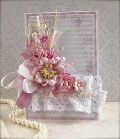 """Sanny Day Studio: СП """"Женские штучки"""" Итоговый пост Shabby Chic Gifts, Shabby Chic Cards, Beautiful Handmade Cards, Heartfelt Creations, Vintage Crafts, Pretty Cards, Homemade Cards, Wedding Favors, Gift Tags"""