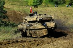 Leopard 2A5DK (Royal Danish Army - Hæren) Tank Armor, Army Vehicles, Warfare, Danish, Sticks, Bones, Armour, Aviation, Germany