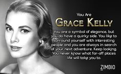 Which Old Hollywood Actress Are You? I got Grace Kelly!
