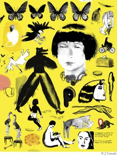Raffinate Forceful Jillian Tamaki Illustrations and Stories – Fubiz Media