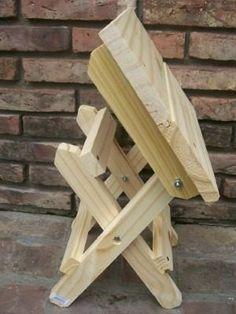 banqueta banco silla plegable de madera somos fabricantes