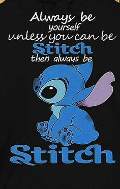 Cuz Stitch is just so cute..