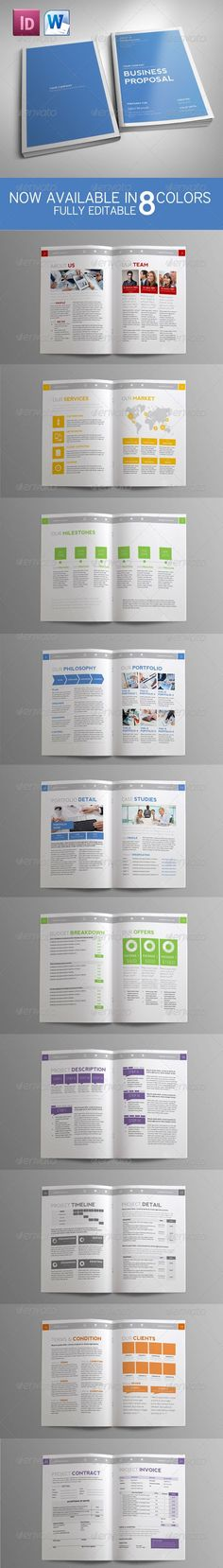 commercial proposal template #22