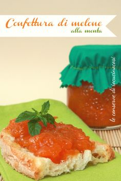 Ricetta Confettura di melone alla menta