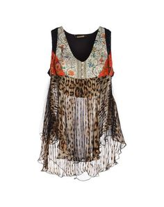 I found this great ROBERTO CAVALLI Silk top on yoox.com. Click on the image above to get a coupon code for Free Standard Shipping on your next order. #yoox