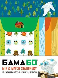 GAMAGO Mix & Match Stationery
