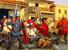 Roman legion vs the Goths