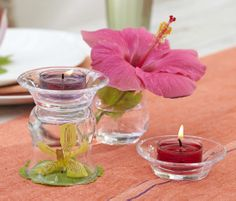 DIY with the Clearly Creative range from PartyLite! On offer in July. Book your party to make the most of this offer Candle Lamp, Candle Companies, Beautiful Candles, House Party, Decorating Your Home, Glass Vase, Candle Holders, Fragrance, The Incredibles