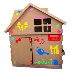Big Toy Casa Adesivada Meninas