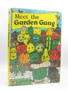 Vintage Meet The Garden Gang Book Hardback 1981 Ladybird - Jayne Fisher - Prop. Condition is Acceptable. 1980s Childhood, My Childhood Memories, Ladybird Books, British History, My Memory, Old Toys, Book Gifts, Love Book, Childrens Books
