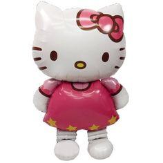 Hello Kitty Airwalker Foil Balloon Party Accessory