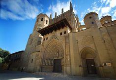 Catedral de Huesca, Aragón, Spain.