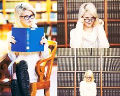 Warby Parker  Blue Frames, Nasty Gal Sweater Dress, Jeffrey Campbell Lace Up Leather Boots
