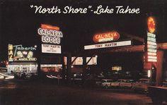 """""""North Shore"""" Lake Tahoe at Night"""