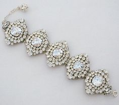 Check out the deal on Brooch Link Bridal Bracelet at Perfect Details