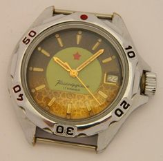 USSR Russian watch Wostok Vostok Komandirskie by madeinua on Etsy