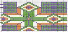 View album on Yandex. Tapestry Crochet Patterns, Crochet Fabric, Knit Or Crochet, Hippie Crochet, Crochet Christmas Trees, Swedish Weaving, Plastic Canvas Tissue Boxes, Tapestry Bag, Crochet Purses