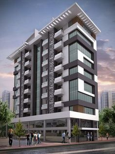 There are lots of design apartment building facade architecture that you can see here This facade design are awesome contemporary and amazing Be it commercial apartment building or private houses, owners prefer the usage of stones to improve the gr - # Residential Building Design, Architecture Building Design, Hotel Architecture, Building Facade, Facade Design, Concept Architecture, Residential Architecture, Exterior Design, Residential Complex