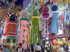 Sendai, Japan Tanabata Festival