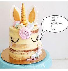 Unicorn Birthday Parties, Unicorn Party, Birthday Ideas, Birthday Cake, Bolo Minnie, Fab Cakes, Rustic Birthday, Unicorn Cakes, Birthday Dinners
