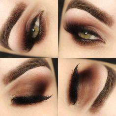 Brown Makeup Maquiagem Marrom