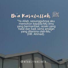 Doa Rasulullah ﷺ di waktu pagi Ya Allah sesungguhnya aku memohon kepada-Mu ilmu yang bermanfaat rezeki yang halal dan baik serta amalan yang diterima oleh-Mu. (Musnad Imam Ahmad Sunan Ibnu Majah dan shahih Ibnu Majah). http://ift.tt/2f12zSN