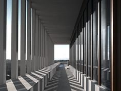 David Chipperfield's haunting Museum of Modern Literature
