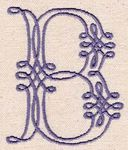 160 Piped Lace Font