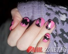 Halloween Nail Art Designs   #scare2win an iPad courtesy of @Halloween Alley HQ