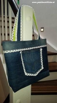 Patchwork- und Quiltforum - - Jeans Recycling - Frühlingstasche