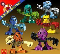 MCDONALDS toys   Bionicle :: best McDonalds Toys :: Dining :: Experiences :: MakeFive