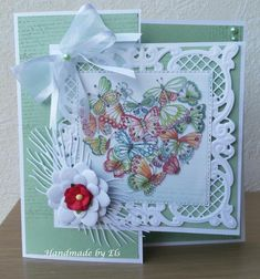 Marianne Design, Heartfelt Creations, Greeting Cards Handmade, Card Ideas, Ornament, Card Making, Images, Scrapbooking, Butterfly