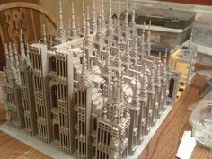 WIP Milan Cathedral: A LEGO® creation by Arthur Gugick : MOCpages.com