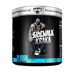 Sidewalk Kraka  Iron Addicts  PreWorkout Formula  Formulated By CT Fletcher 30 Servings Blue MuthaFuckin Raspberry -- Check out this great product.  This link participates in Amazon Service LLC Associates Program, a program designed to let participant earn advertising fees by advertising and linking to Amazon.com.