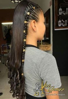 Baddie Hairstyles, Cute Hairstyles, Braided Hairstyles, Curly Hair Styles, Natural Hair Styles, Little Girl Hairstyles, Hair Dos, Hair Trends, Her Hair