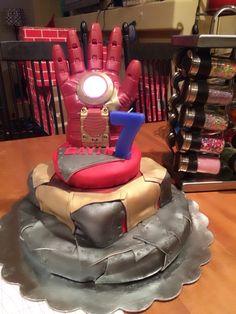 Iron Man cake