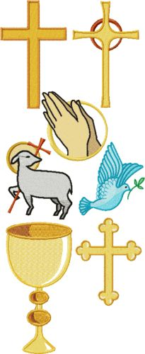Christian Motifs machine embroidery designs
