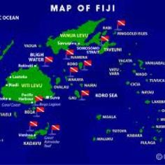Fiji comprises of approximately 330 islands, about one - third are inhabited. It covers about 1.3 million square kilometers of the South Pacific Ocean. The two major islands are Viti Levu and Vanua Levu. After nearly a century as British colony, Fiji became independent in 1970. Figi diving!☀