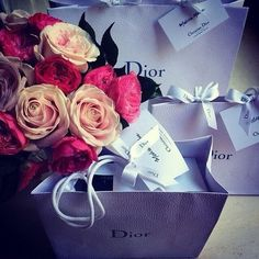 Dior and flowers not more