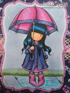 Afbeeldingsresultaat voor scrapkaart Gorjuss puddle of love Kids Prints, Cute Images, Copics, Cute Dolls, Altered Art, Paper Dolls, Cute Art, Painted Rocks, Cool Drawings