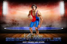 Player Banner Sports Photo Template - Prime Time Wrestling