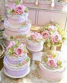 Rose cakes